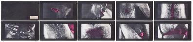 Hudinilson Jr., 'Sem título / xerox OCÉ (interferido)', 1980