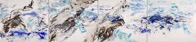Betty Jo Costanzo, 'Living Oceans Maui No. 3 (4 parts) / 184 inches long - 15 feet', 2019