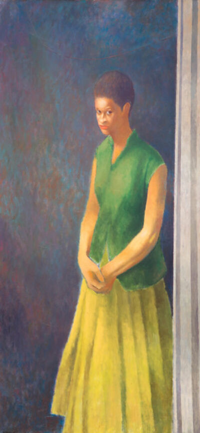 Charles White, 'Young Woman (Unfinished painting #6)', 1965-1966