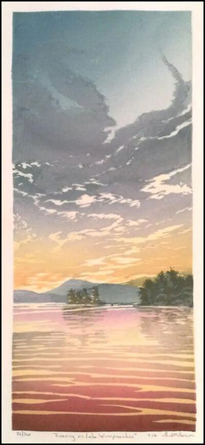 Matt Brown, 'Sunset on Lake Winnipesaukee ', 2014
