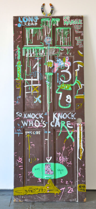 Jason McLean, 'Knock Knock Who's Care', 2014