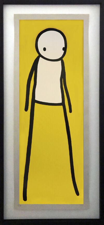 Stik, 'Walk (yellow matt)', 2012
