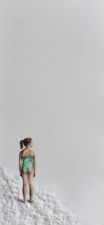 Pablo Arrazola, 'Girl in Green Swimsuit', 2018