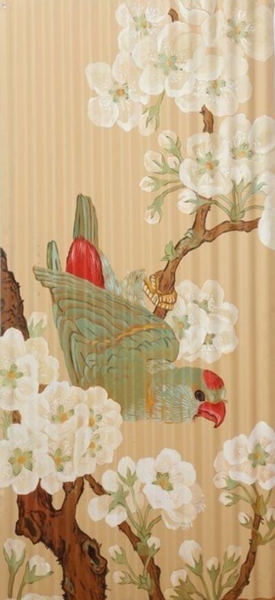 Huang Yan, 'Electroplate.Flower bird No. 1', 2010