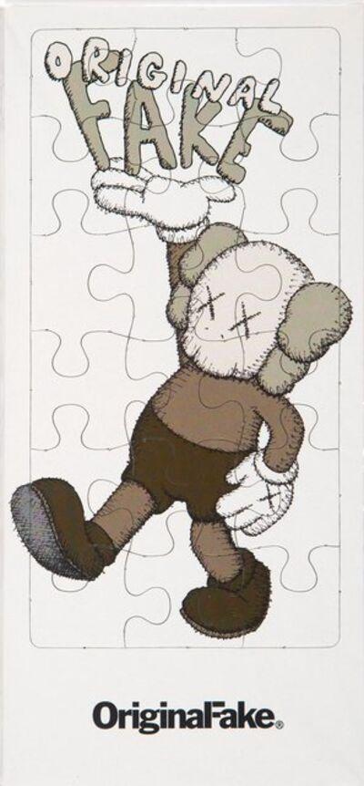 KAWS X Sesame Street, 'Exhibition Invitation Puzzle', n.d.