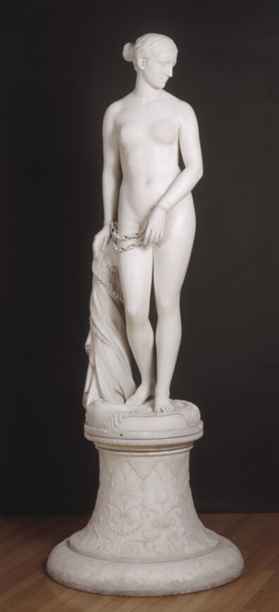 Hiram Powers, 'The Greek Slave', 1850