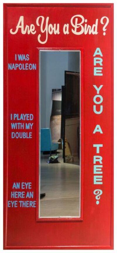 Eve Sussman, 'Tiger's Mirror (Are you a bird?)', 2015