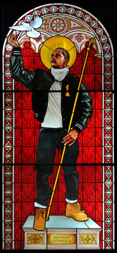 Kehinde Wiley, 'Saint Remi', 2014