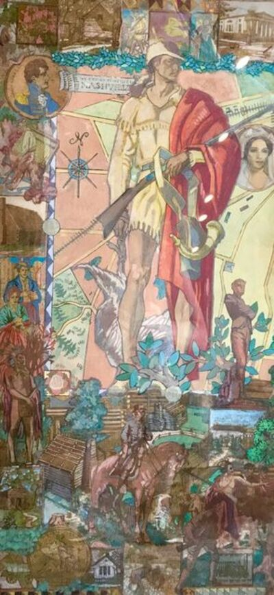 Dean Cornwell, 'Study for Mural in the Lobby of WPA Courthouse in Nashville', 20th Century
