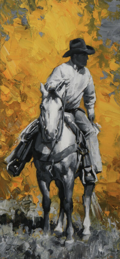 Jason Rich, 'Autumn Cowboy', 2019