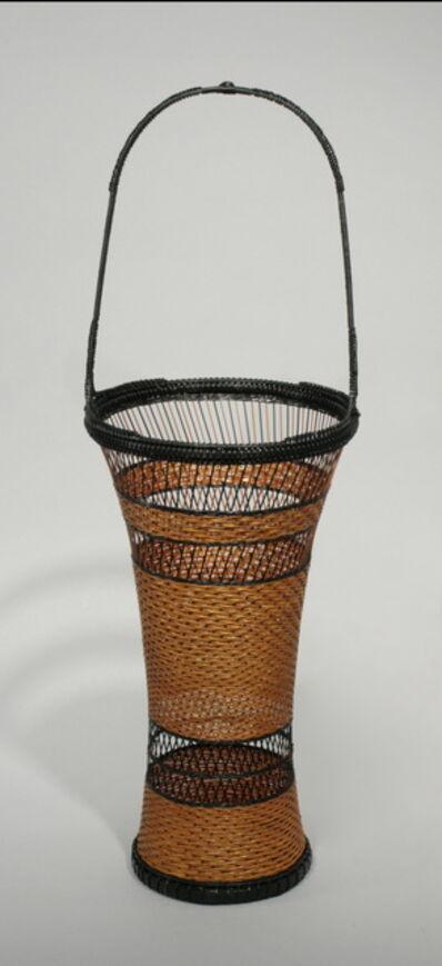 Tanaka Kyokusho, 'Pine Needle Pattern Flower Basket', 2010