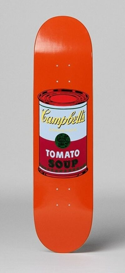 Andy Warhol, 'Campbell's Soup Skate Deck (Purple)', 2016