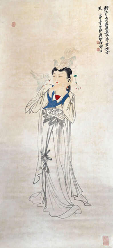 Zhang Daqian, 'The Beauty', 1944