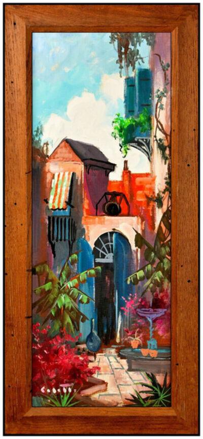 Colette Pope Heldner, 'Brulatour Courtyard New Orleans Original', 20th Century