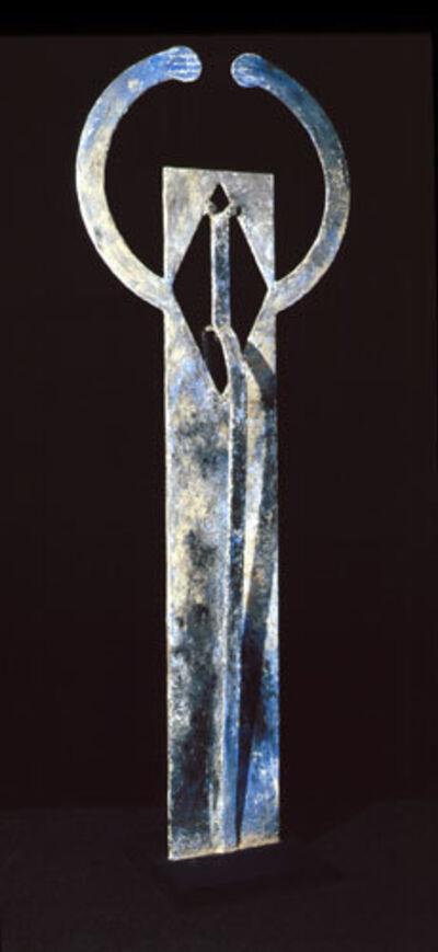 Rufino Tamayo, 'Hombre asombrado', 1990