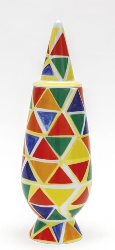 Alessandro Mendini, 'A vase from '100% make up' series for ALESSI TENDENTSE', 1992