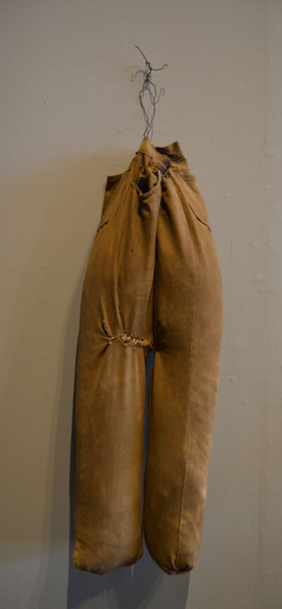 Hawkins Bolden, 'Untitled - pants scarecrow', 1987-1992