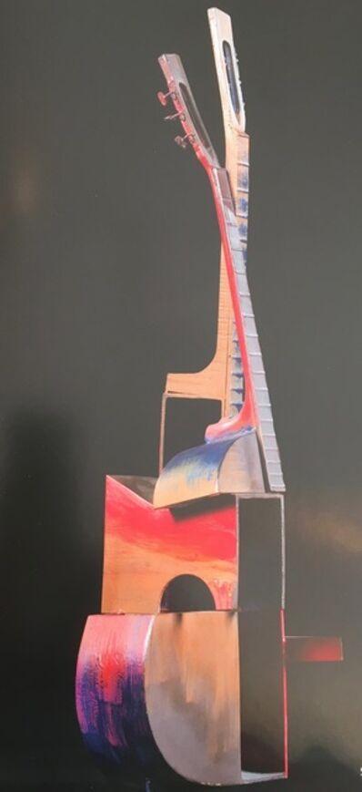Arman, 'Guitare cubiste', 2003