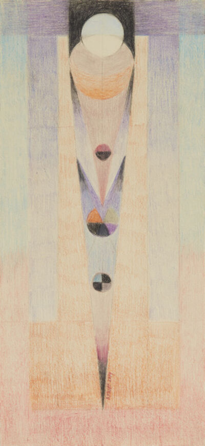 "Solange Knopf, 'Serie ""Cosmos"" No. 9', 2018"