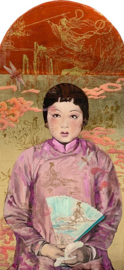 Hung Liu 刘虹, 'Nüwa's Creation - Gold', 2020