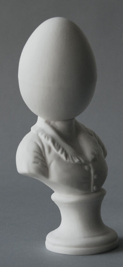 Matt Smith, 'Egghead Bust (Small)', 2018