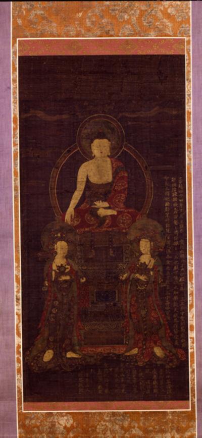Unknown Artist, 'Shakyamuni Triad', 1392-1910