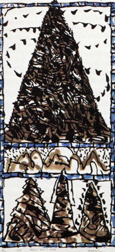 Pierre Alechinsky, 'Reserve pour l'hiver', 1988