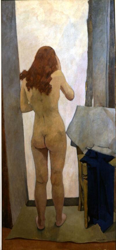 Felice Casorati, 'Nudo di schiena', 1939