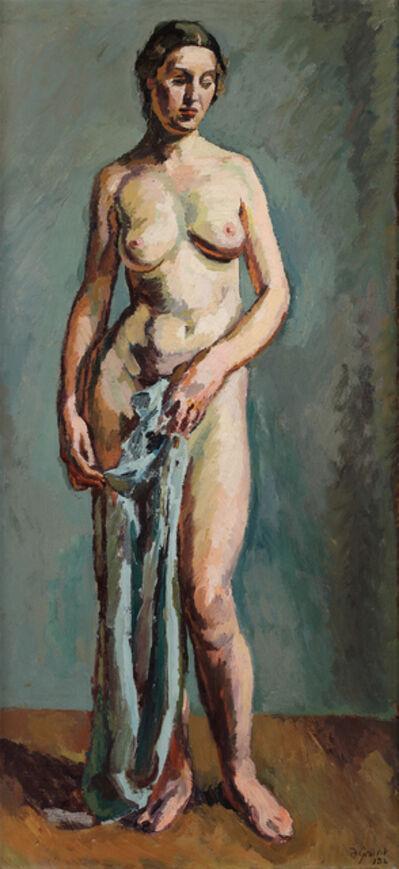 Duncan Grant, 'Standing Nude', 1932