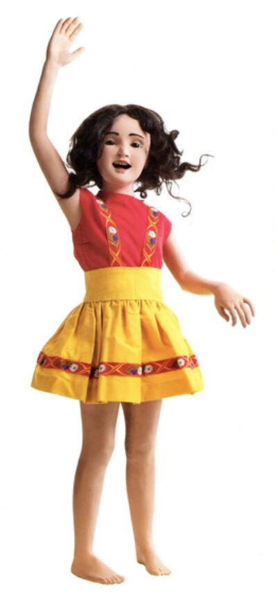 Morton Bartlett, 'Girl waving', n.d.