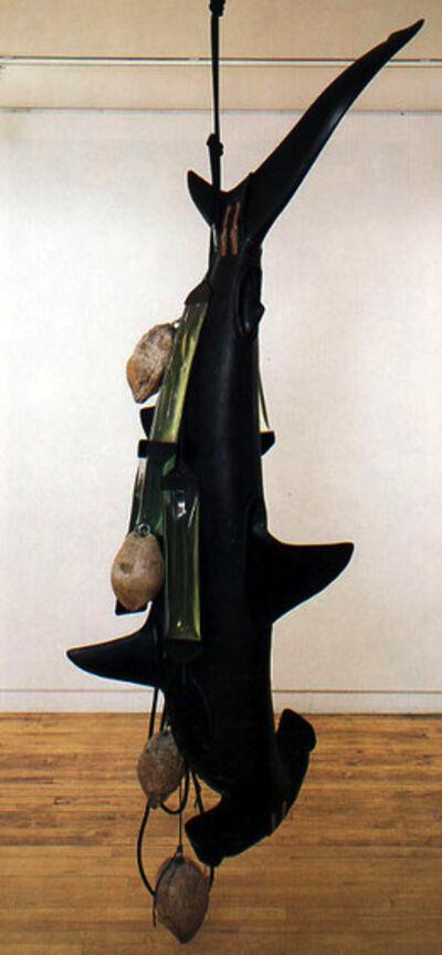 Ashley Bickerton, 'Solomon Island Shark', 1993