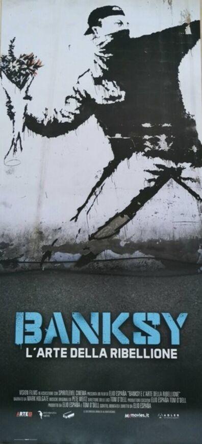 """Banksy, 'Banksy, The Art of Rebellion"""" """"L'Arte Della Ribellione"""" Original Italian Movie Poster', 2020"""