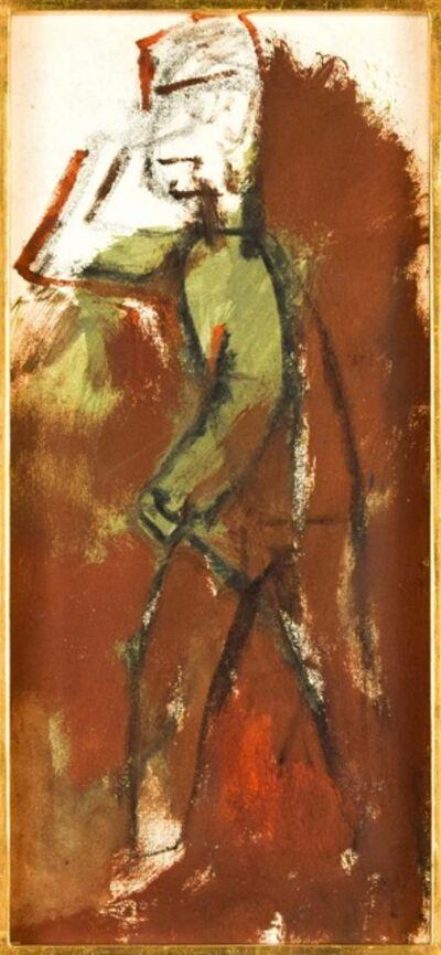 Mino Maccari, 'The Soldier', 1950s