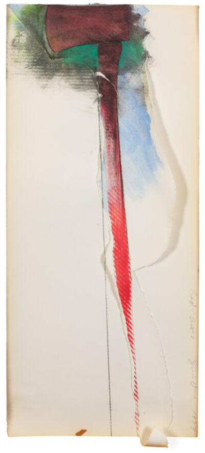 Jim Dine, 'The Red Axe', 1973