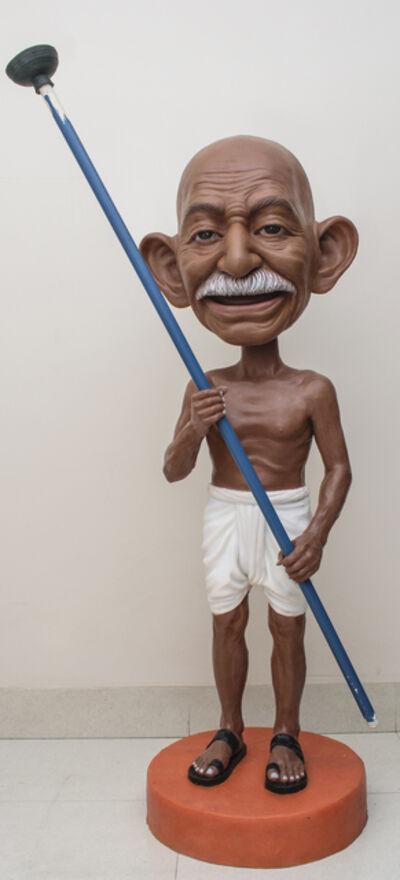 Debanjan Roy, 'Toy Gandhi 7 (Bobble Head 2)', 2019