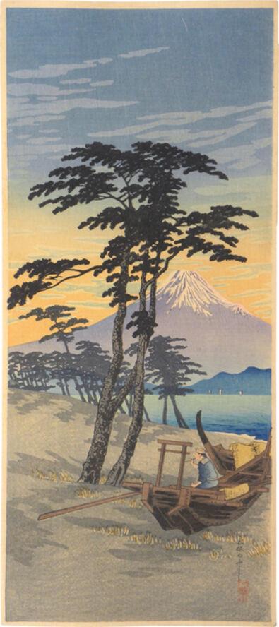 Hiroaki Takahashi (Shotei), 'Mt. Fuji from Miho', ca. 1924-1927