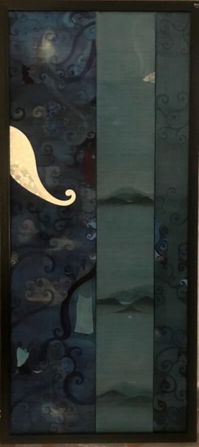 Poushali Das, 'Elephants in silent nightscape', 2006