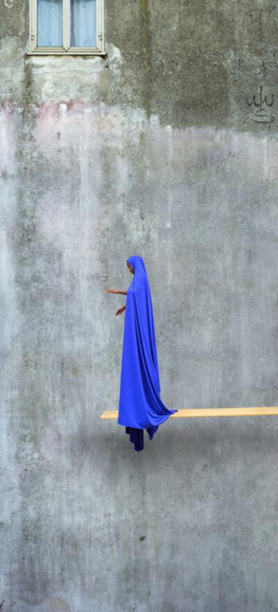 Maïmouna Guerresi, 'Blue Trampoline', 2016