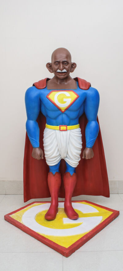 Debanjan Roy, 'Toy Gandhi 4 (Small Superhero)', 2019