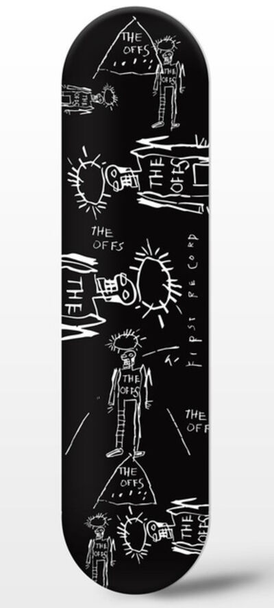 Jean-Michel Basquiat, 'The Offs Limited Edition Skate Deck by Jean-Michel Basquiat #2', 2019