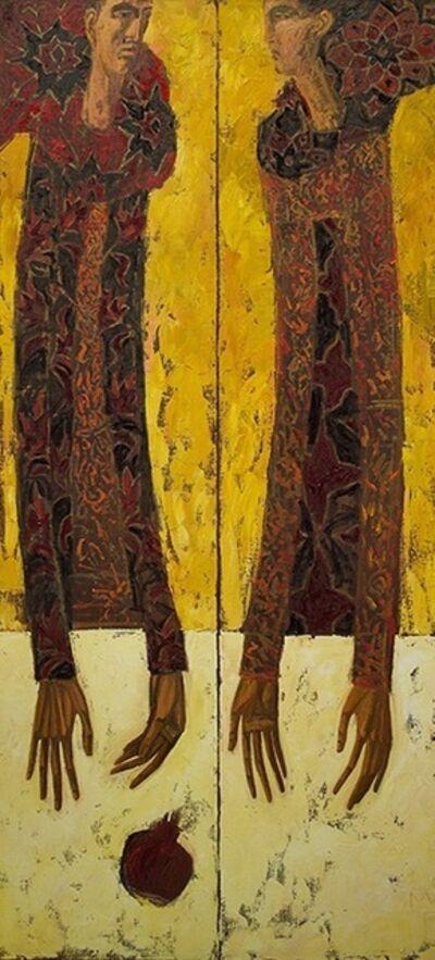 Timur D'Vatz, 'Autumn Wind.Pomegranate', 2017
