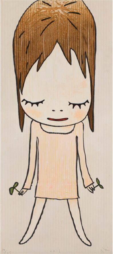 Yoshitomo Nara, 'Sprouts in Hands', 2013