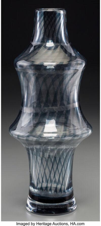 Ingeborg Lundin, 'Graal Pinched Vase,', 1963-Orrefors