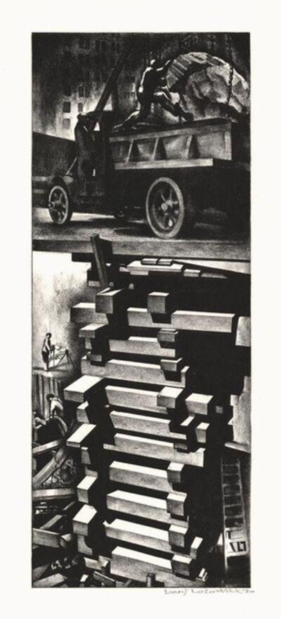 Louis Lozowick, 'Construction (Excavation)', 1930