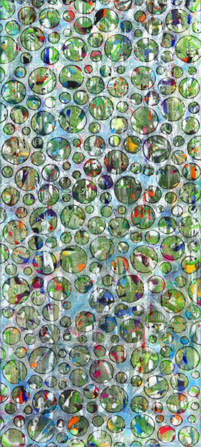 Petra Rös-Nickel, 'Bubbles Green', 2020