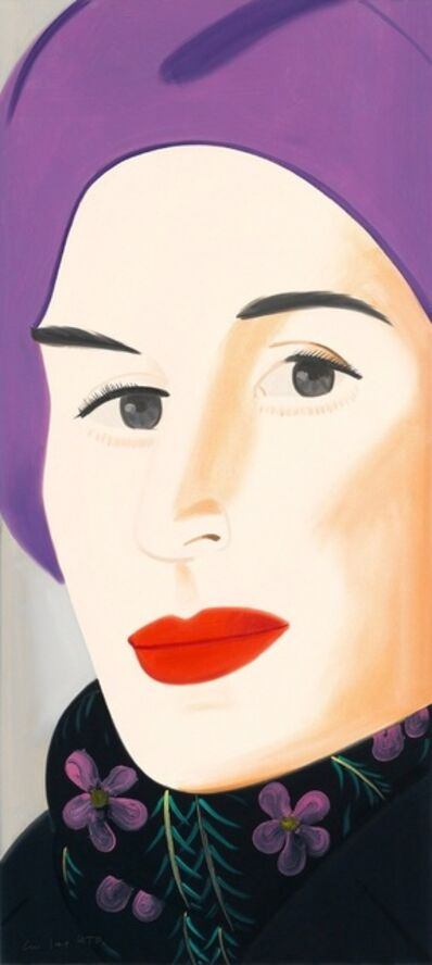 Alex Katz, 'Purple Hat (ADA)', 2017