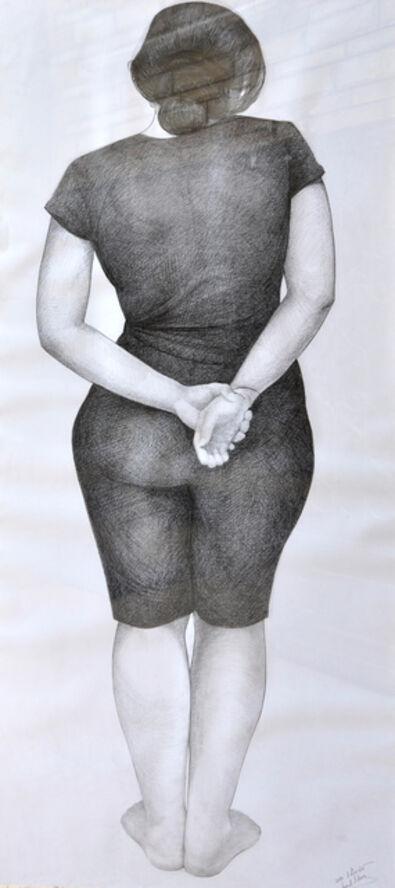 Hend Adnan, 'Graphite 2', 2011