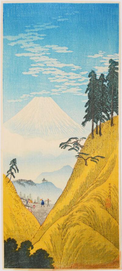 Hiroaki Takahashi (Shotei), 'Inume Pass', ca. 1936