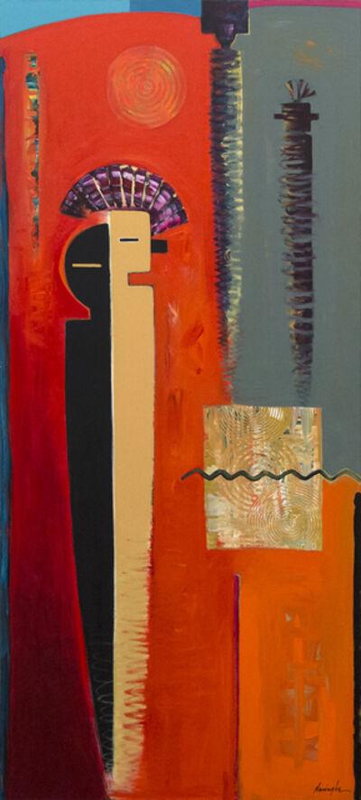 Dan Namingha, 'Descending', 1995