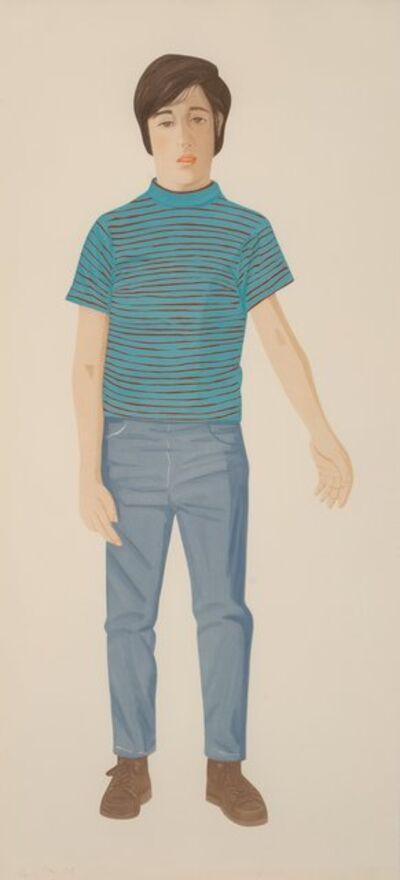 Alex Katz, 'The Striped Shirt', 1980